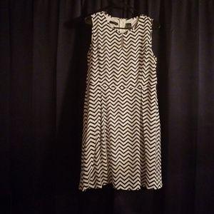 Chevron Print Dress